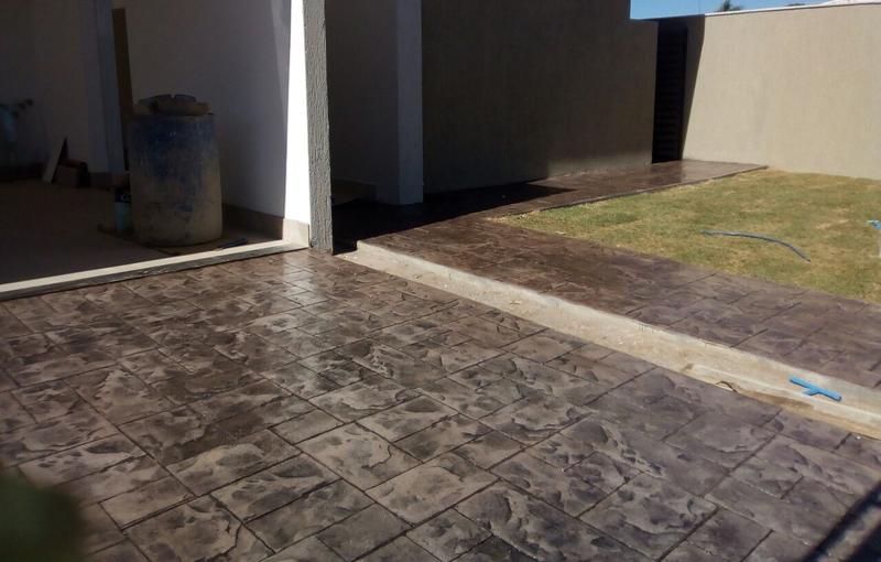 Piso concreto estampado Cemento estampado fotos